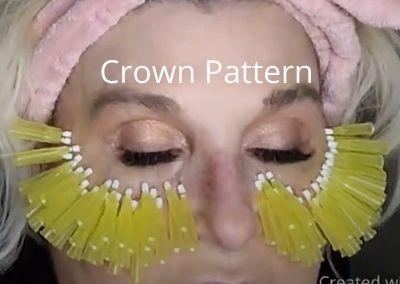Threads Crown Pattern | EYE ORBITAL Area | ACECOSM.COM