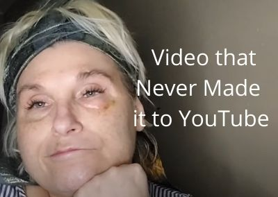 The video that never made it to YouTube why now??