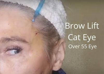 Brow Lift | Cat Eye | Over 55 Eye