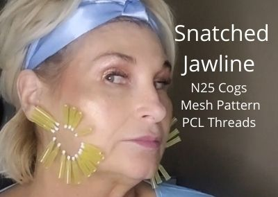 N25 Cogs | Mesh Pattern | PCL Threads | Snatched Jawline