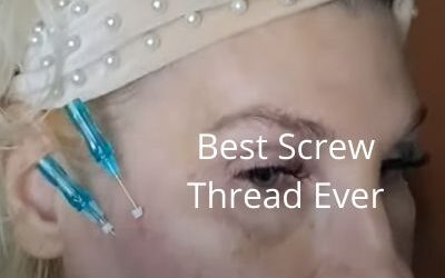 Best Screw Thread Ever 23g 60mm and 23g 60mm Cog Thread   Get Glowing Now Skincare