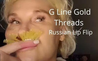 G Line Gold Threads   Russian Lip Flip   Mesh Pattern   Acecosm.com DIY55