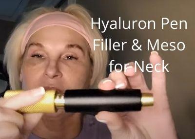 Hyaluron Pen Filler and Meso for Neck