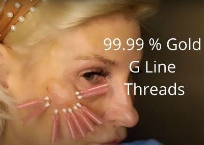 99.99 % Gold G Line Threads | Aquashine Plus Acecosm.com