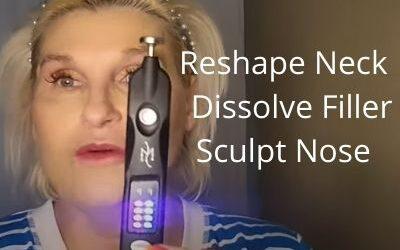 Reshape Neck    Dissolve Filler and Sculpt Nose   Black Beauty Monster