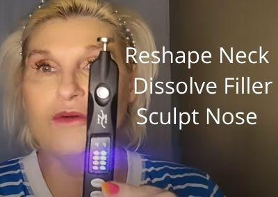 Reshape Neck  | Dissolve Filler and Sculpt Nose | Black Beauty Monster